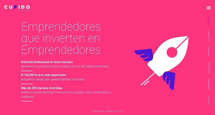 Nace Cupido Capital, inversión en startups en fase pre-semilla