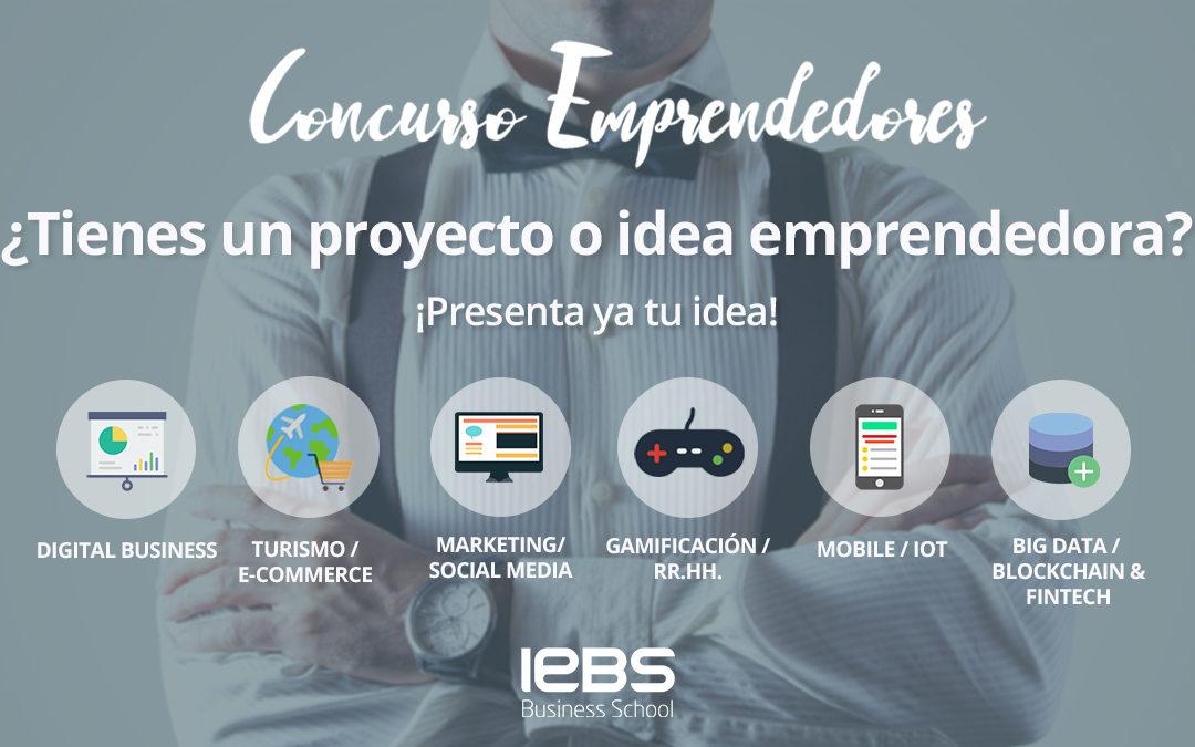 IEBS lanza la décima edición del Concurso de Emprendedores