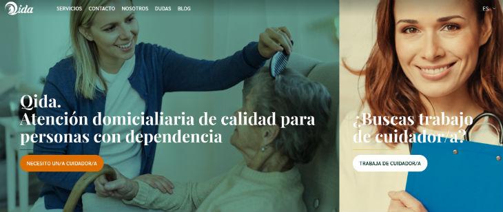 Qida, atención domiciliaria para la dependencia, recibió 1,2 millones de euros.