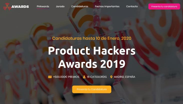 Product Hackers Awards 2019, los premios a los mejores productos digitales españoles