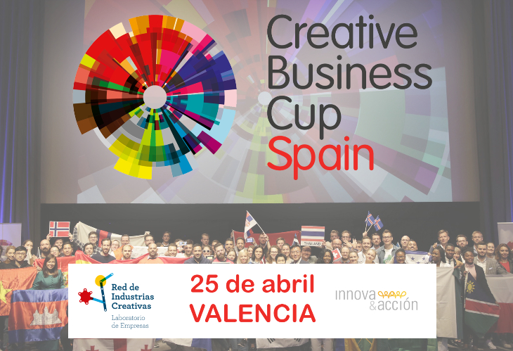 Red de Industrias Creativas organizará en Valencia la Creative Business Cup Spain 2020