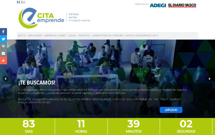 CITA|Emprende lanza una convocatoria para su competición de startups