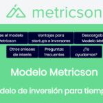 Metricson presenta un nuevo modelo de financiación para startups