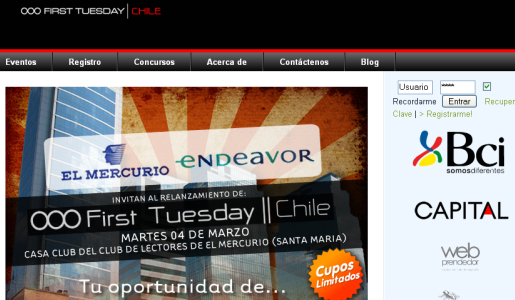 FirstTuesday Chile